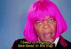 Samuel L Jackson poking fun at Nikki Minaj. And other tops Gifs of the weeks.