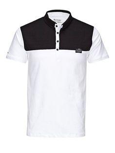 CORE by JACK & JONES - Polo-Hemd von CORE - Slim fit - Button-Down Polo-Kragen - Gesteppter Stoff an der Brust - Weiche Jersey-Qualität - Das Modell trägt Größe L und ist 187 cm groß 100% Baumwolle...