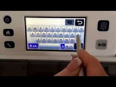 How to weld letters on the Scan n Cut Machine, video, scanncut