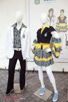 Ukraine Olympic Uniforms -