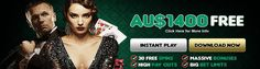 Casino Mate is an online casino powered by Microgaming software licensed in Malta. Get a fantastic AU$1400 + 30 Free Spins Welcome Bonus at Australian Casino Mate.