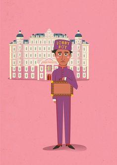 Poster Grande Hotel Budapeste