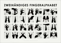 Iris Luckhaus - Zweihändiges Fingeralphabet