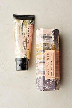 Wind + Whisper Hand Cream Moonflower Noir Illume Anthropologie #Illume