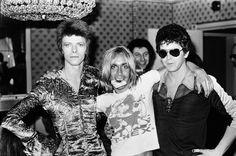 Bowie Iggy Lou