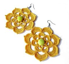 Beautiful+ideas+crochet | Beautiful Crochet Earring Designs and Ideas - Life Chilli
