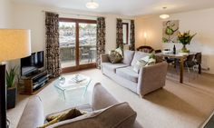 Lake District self-catering holiday in Windward Apartment 18 sleeps up to 2 guests at Windermere Marina Village. Marina Village, Holiday Apartments, 18th, Sleep, Couch, Living Room, Furniture, Home Decor, Homemade Home Decor