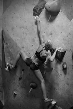 Sierra Blair-Coyle at The BLOC climbing+fitness  Photo Courtesy of ESG Photography