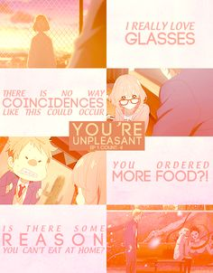 Find images and videos about anime, kyoukai no kanata and kuriyama mirai on We Heart It - the app to get lost in what you love. Manga Quotes, Book Quotes, Life Quotes, Mirai Kuriyama, Beyond The Boundary, Kamigami No Asobi, Normal Person, Anime Nerd, Another Anime