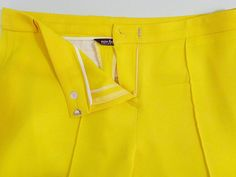 Even though these pants gave me a fit to make, the more I look at them, the more I love them! 😍 ......... #VoguePatterns 1366 #MoodFabrics: Buttercup Yellow Stretch Wool Twill (302078) ......... #v1366 #SeeItSewItStyleIt #yellowpants #FallSewing  #ericabsewing #sewingblogger #sewingblog #sewing  #sewingwithstyle #imakemyownclothes #diystyle #diyfashion #seamstress