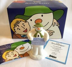 Coalport Snowman Figure The Welcome Limited Edition