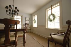 dining room in farrow & ball string Room Wall Colors, Dining Room Colors, Dining Room Walls, Living Room, Farrow And Ball Paint, Farrow Ball, Barn Renovation, Paint Colors, Painted Walls