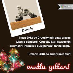 Umarız 2013 de sizin yılınız olur!