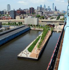 Race Street Pier, Philadelphia by James Corner Field Operations