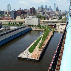 Race Street Pier, Philadelphia by James Corner Field Operations
