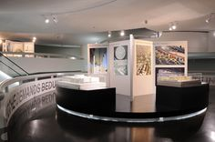 Exhibition of modern museum architecture at the BMW Museum