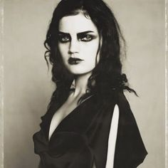 Feeling moody on this grey morning but inspired by this beautiful Paolo Roversi image from the 90's #inspiration #bride #gothic #forties #wedding #paoloroversi #guineverevanseenus #taradeighton #hastings