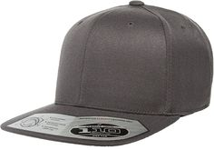Buy this Flexfit 110F Dark Grey One Ten Snapback! Go get it now only at 50ed6bfddf7