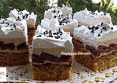 Mogyorós,kekszes karamell krémmel   Edit56 receptje - Cookpad receptek Cheesecake, Food And Drink, Sweets, Snacks, Meals, Cookies, Baking, Advent, Honey