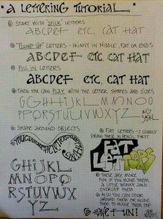 Hand Lettering Fonts, Doodle Lettering, Creative Lettering, Lettering Styles, Lettering Tutorial, Brush Lettering, Typography Fonts, Doodle Fonts, Doodle Doodle