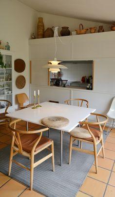 Jorn Utzon, Interior Architecture, Interior Design, Dining Room, Dining Table, Form Design, Scandinavian Modern, Modern Rustic, Interior Inspiration