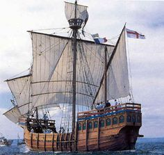 Matthew of Bristol, replica caravel, laid down 1994