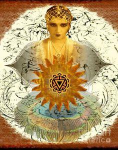 Manipura Goddess by Desiree Paquette
