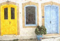 Blue & Yellow, Alaçatı, İzmir, 2013.