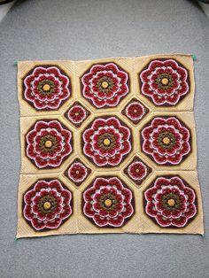 Ravelry: Project Gallery for Imogen Blanket Kit pattern by Jane Crowfoot