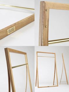 FRAMED, clothing rack by Nordic Tales