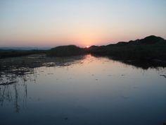 Il SIC - Parco Naturale Regionale da Torre Canne e Torre S. Leonardo al tramonto