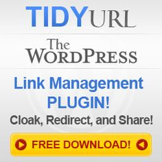 Tidy Url is a new WordPress plugin that helps you to have control over your links. With Tidy Url you can easily track, shrink, redirect, cloak, or