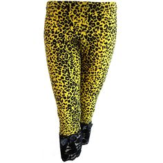 Leopard Leggings ($32) ❤ liked on Polyvore featuring pants, leggings, leopard pants, legging pants, leopard print leggings, leopard leggings and leopard print pants