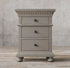 """20"""" St. James Extra-Narrow Closed Nightstand"""