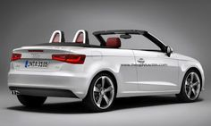 """In early March 2012, Audi has unveiled its new-generation A3 of the vintage 2012th During the very first Audi A3 generation never could roll a convertible at the start, the Ingolstadt in 2008 they beat out the long-awaited A3 convertible. And also for the generation A3 with the internal name """"8V"""" there should be sunny convertible potential. In late 2013, the new Audi A3 Cabriolet will be presented."""