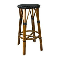 Captivating Black U0026 Cream Counter Height Mediterranean Bistro Bar Stool With Back (26 Awesome Design