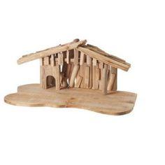24 inch Wooden Religious Christmas Nativity Creche