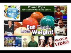TV News Clips! Power Pops Weight Loss Lollipops with Hoodia & Kids Pops Vitamins on a stick