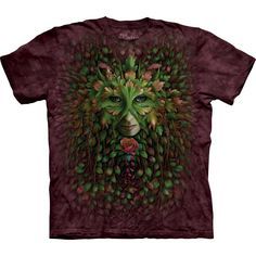 T-shirt | Green Woman T-shirts  $24.99 This high quality T-shirt is hand dyed and printed in the United States. This is not an iron-on decal that will crack and flake off. The ink is deeply embedded in the fibers which guarantees a long lasting print design and extraordinary comfort.  100% Cotton Pre-shrunk