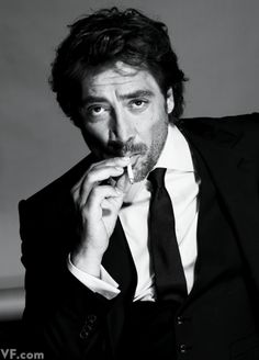 Javier Bardem by Nigel Parry