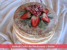 Nacked cake Tiramisu, Ethnic Recipes, Desserts, Cakes, Custard, Tailgate Desserts, Deserts, Postres, Dessert