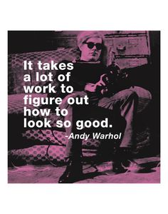 Poster Andy Warhol