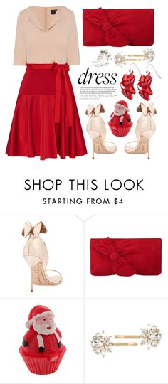 """""""#longsleevedress#holiday"""" by miee0105 ❤ liked on Polyvore featuring Paule Ka, Sophia Webster, L.K.Bennett and Trina Turk"""