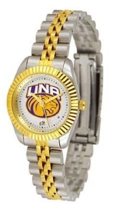 North Alabama Lions NCAA Womens 23Kt Gold Watch by SunTime. $133.95. The ultimate fans statement our Ladies Executive timepiece offers women a classic business-appropriate look. Features a 23kt gold-plated bezel stainless steel case and date function. Secures to your wrist with a two-tone solid stainless steel band complete with safety clasp.This watch comes with a 3 year limited manufacturers warranty on the mechanism of the watch and the warranty states Do not submerge your ...