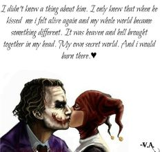 Joker Love Quotes, Badass Quotes, Movie Quotes, Harly Quinn Quotes, Harley And Joker Love, Harley Quinn Drawing, Marvel Quotes, Dark Quotes, Romantic Love Quotes