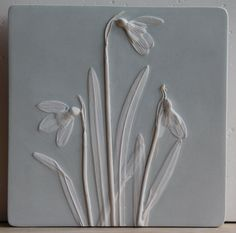 Rachel Dein Botanical Casts in Plaster and Concrete от RachelDein Plaster Cast, Tuile, Wall Molding, Stone Carving, Wedgwood, Botanical Art, Sculptures, Sculpture Art, Concrete