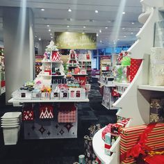 Gift Wrap Wonderland at The Container Store #containerstore