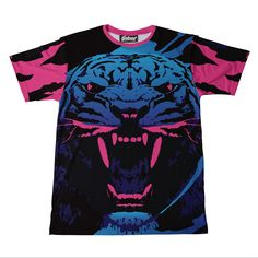 Neon Tiger Men's Tee from Beloved Shirts