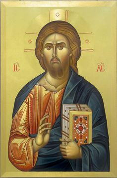 Byzantine Icons, Byzantine Art, Christ Pantocrator, Roman Church, Images Of Christ, Orthodox Christianity, Orthodox Icons, Religious Art, Jesus Christ