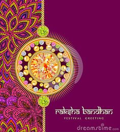 Illustration about Rakhi with gems on shiny red and beige background for the festival of Raksha Bandhan celebrations. Illustration of greeting, gems, bandhan - 44231707 Raksha Bandhan Pics, Raksha Bandhan Cards, Happy Raksha Bandhan Images, Raksha Bandhan Quotes, Diwali Decorations At Home, Diy Party Decorations, Raksha Bandhan Wallpaper, Birthday Msgs, Raksha Bandhan Greetings